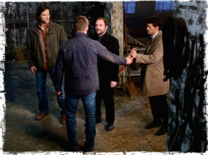 pg Dean gives blade to Castiel The Executioners Song Supernatural