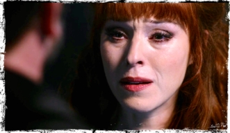 Rowena is very disappointed in her son