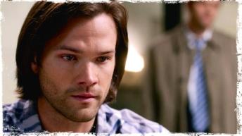Sam tells Castiel that Dean is in trouble