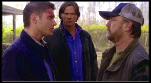 Sam Dean Winchester Bobby Singer Supernatural No Rest for the Wicked pix