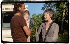 sl Rick Carol The Distance The Walking Dead
