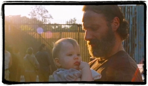 sl Rick Judith the distance the walking dead