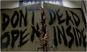 wc The Walking Dead Dont open dead inside