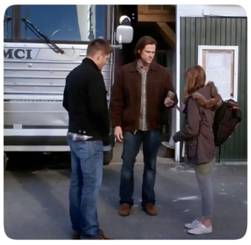 Sam and Dean say good-bye to Young Tina