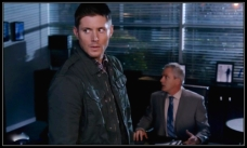 Dean goes to protect the man they think killed Charlie's parents