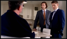 Sam and Dean talk to the man that Charlie beat up