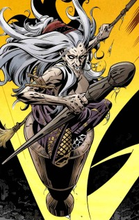 Baba Yaga of Vertigo's Fables.