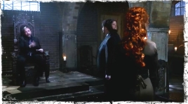 Crowley asks Rowena to leave his minions alone