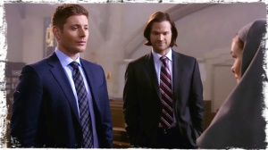 Sam and Dean question Sister Mathias