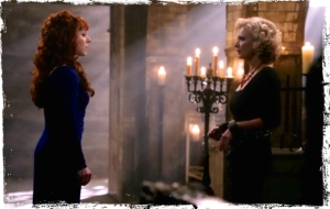 Rowena confronts Olivette Supernatural Paint it Black