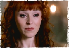 Rowena is not happy with the King of Hell