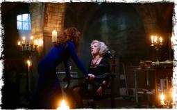Rowena torturing Olivette