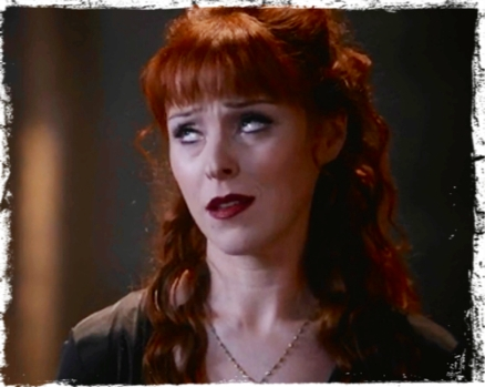 Rowena annoyed with Crowley