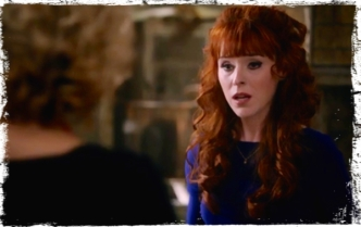 Rowena is shocked to see Olivette