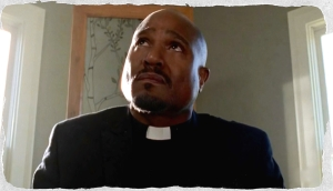 God only knows what  Father Gabriel's problem is