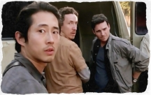 Glenn, Nick, and Aiden at the warehouse