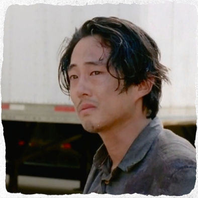 pix Glenn upset The Walking Dead Spend