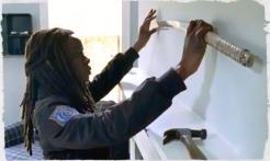 Michonne puts aside her katana