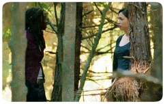 Michonne and Rosita look for Sasha