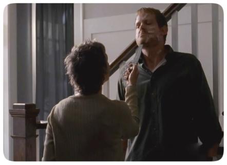 Scary Carol threatens Pete