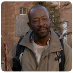 Morgan tells Aaron and Daryl he has somewhere to be