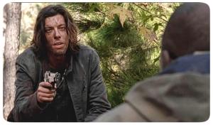 Wolf gun Morgan The Walking Dead Conquer