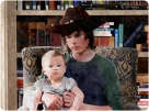 Carl confesses his guilt while Baby Judith stares straight at the camera.