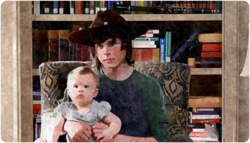 silk Carl Grimes Interview Baby Judith Remember The Walking Dead