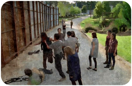 After being a ticking time bomb since arriving in Alexandria, Daryl explodes at Nick.