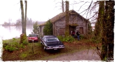 "The Winchesters meet Charlie at a cabin. Supernatural Season 10 Episode 18 ""Book of the Damned"""