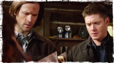 Charlie shows book Supernatural Book of the Damned