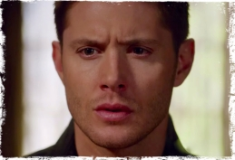 Dean CU Supernatural Book of the Damned