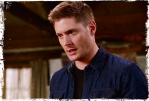 Dean looks grim Supernatural Book of the Damned
