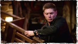 Dean with chair