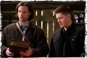 Sam book Dean Supernatural Book of the Damned