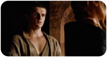 Lancel apologizes to Cersei