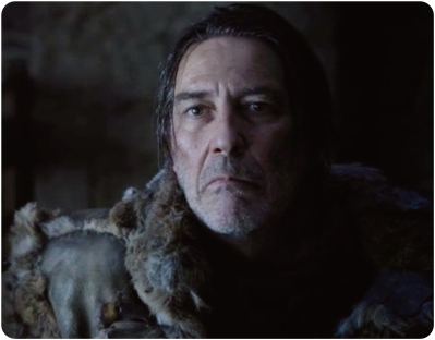 Mance Rayder tells Jon Snow he will not bow down to Stannis