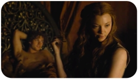 Margaery tells Loras to be more discreet