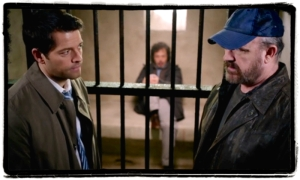 Cas and Bobby break Metatron out of heaven