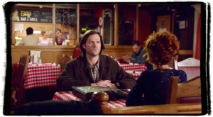Sam and Rowena in Betty's Supernatural The Werther Project