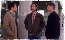 Cas Sam Dean hospital Supernatural Angel Heart