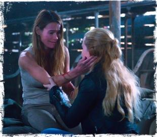 Claire Amelia hug Supernatural Angel Heart