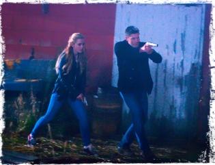 Claire Dean run Supernatural Angel Heart