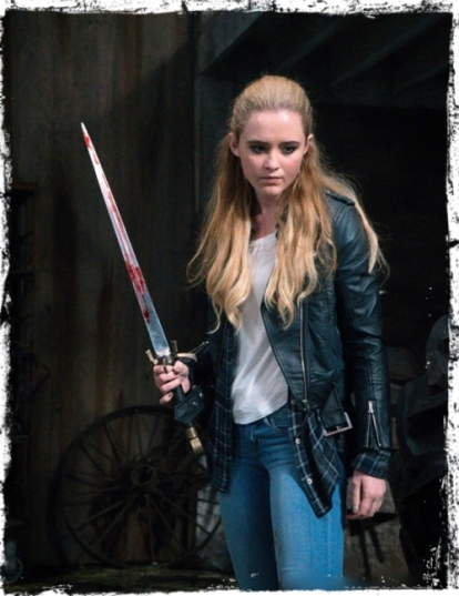 Claire sword Supernatural Angel Heart