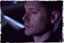 Dean in impala Supernatural Angel Heart