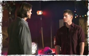 gr Sam Dean exit bar Supernatural Brother's Keeper