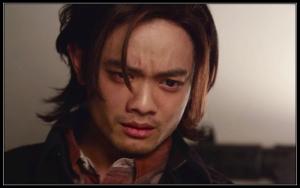 Osric Chau sheds a manly Sam Winchester tear