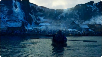 Arrival in Hardhome Game of Thrones Hardhome