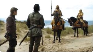 Bronn Jaimee soldiers Game of Thrones Sons of the Harpy