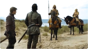 Bronn Jaimee soldiers Game of Thrones Sons of the Harpy